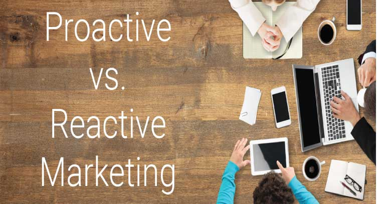 Proactive Marketing vs Reactive in 2020